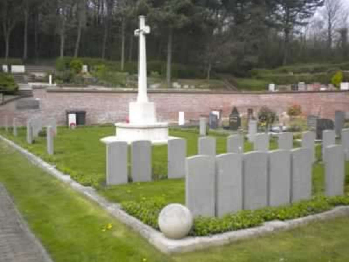 Noordwijk General Cemetry, Zuid-Holland, where 5 South African Mendi victims rest