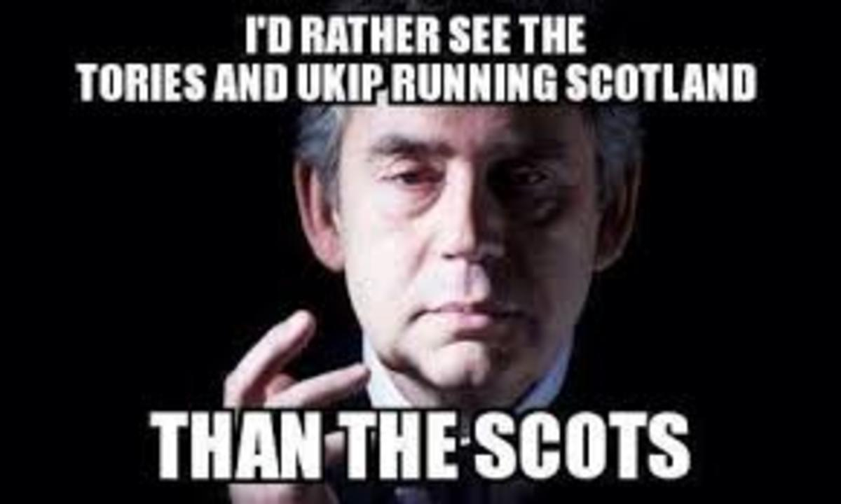 His wish may well be granted if Scotland is not careful