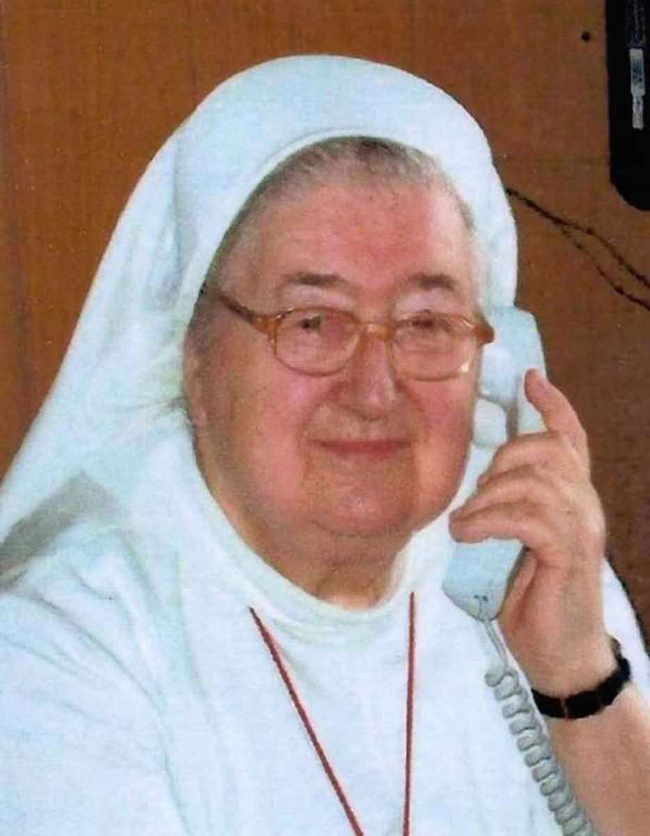 Sister Gertrud Tiefenbacher, brutally killed in April, 2015