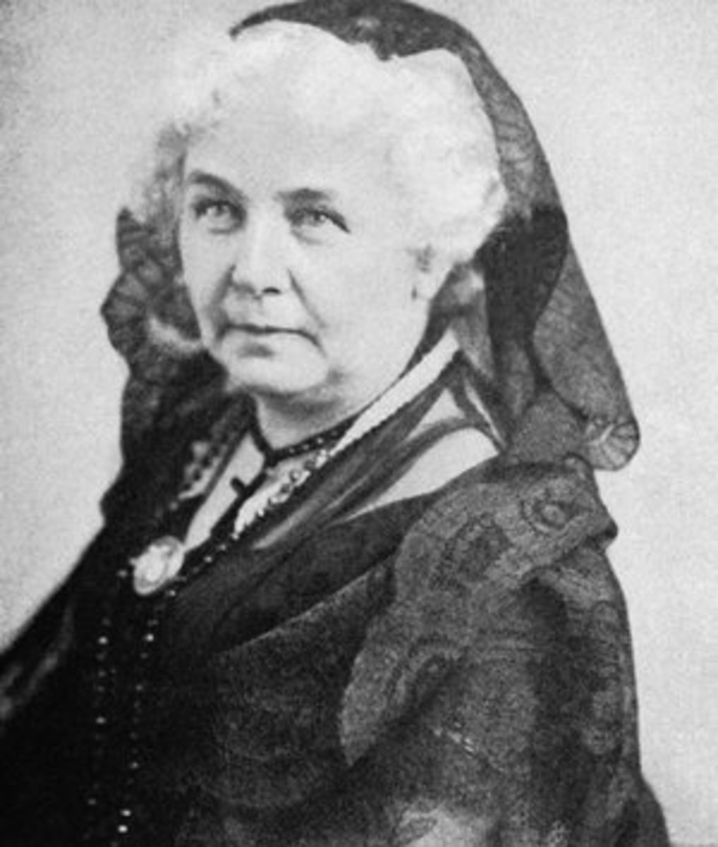 Cady Stanton started out as an abolitionist during the 1840's and then took her convictions and personal experiences into women's suffrage, which she is mostly known for.