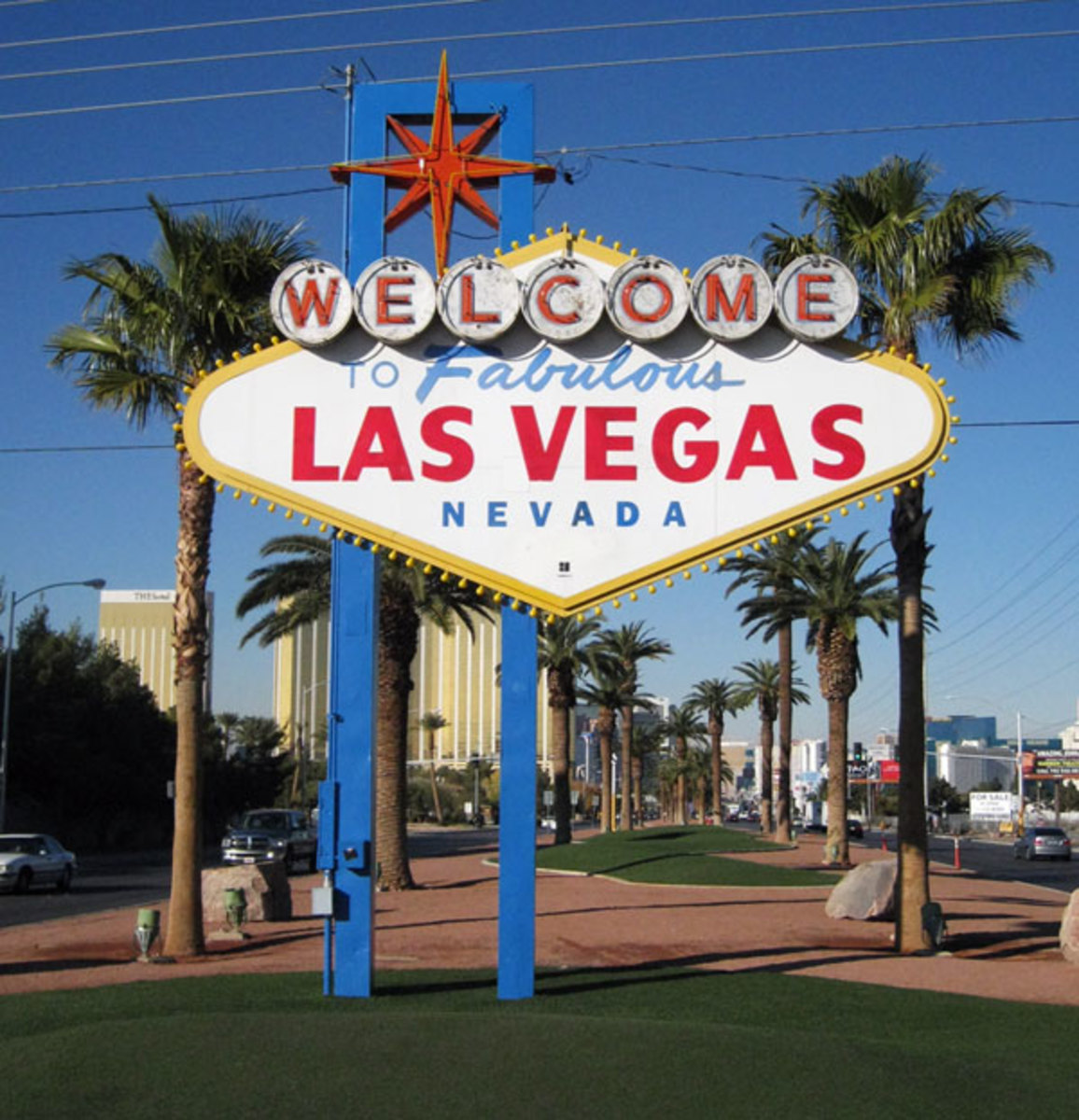 Welcome to Las Vegas city sign.