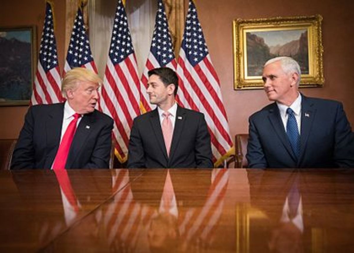 These three men are the most powerful in the country and could not finalize a replacement for Obamacare.