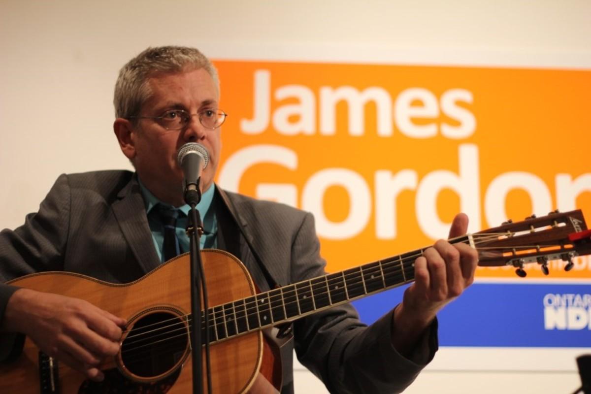 MP for Timmins-James Bay Charlie Angus