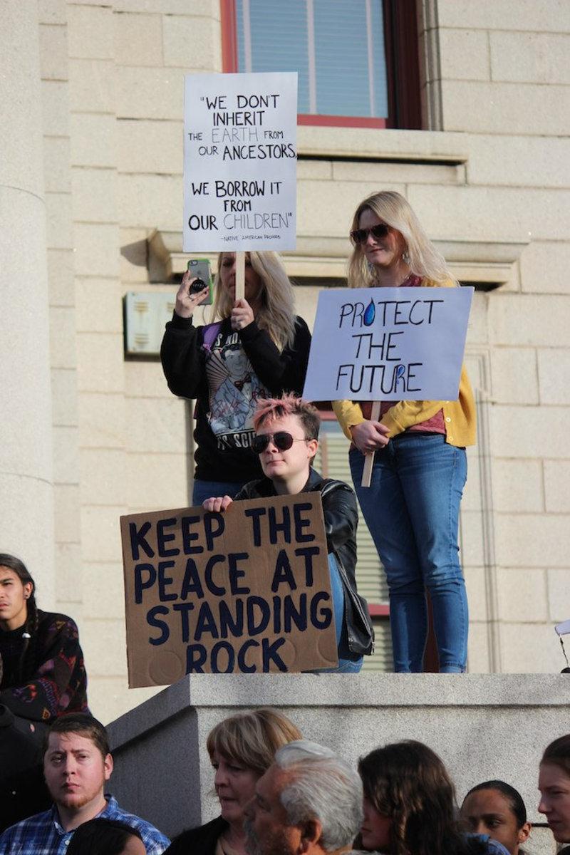 #NoDAPL Rally, Colorado Springs, CO