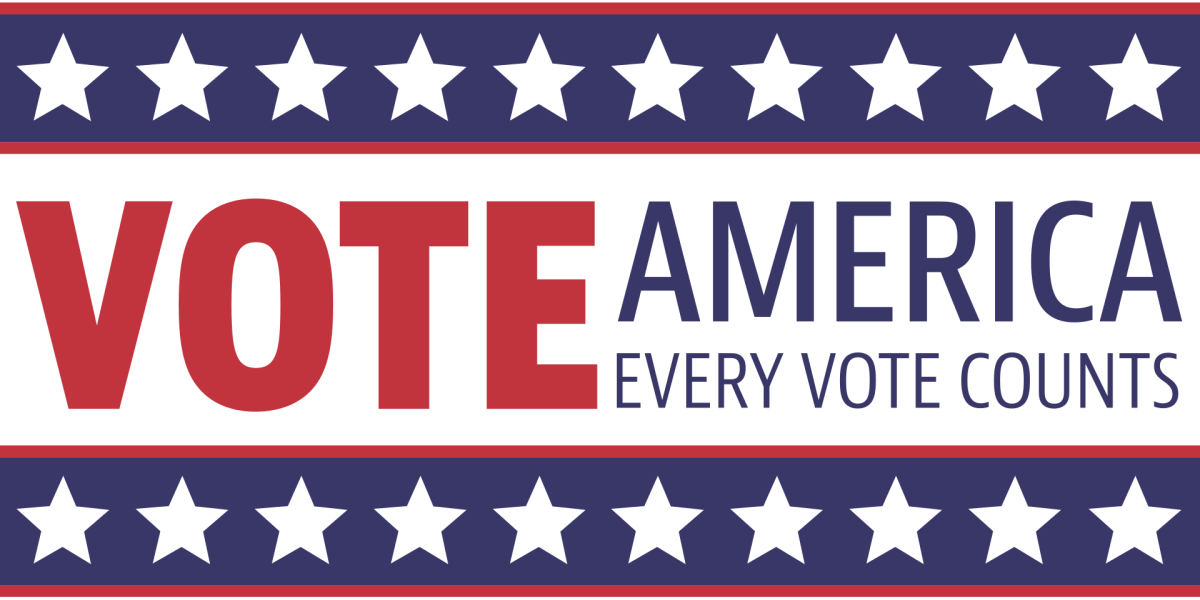 Democracy is most vital when people vote. Your vote counts!