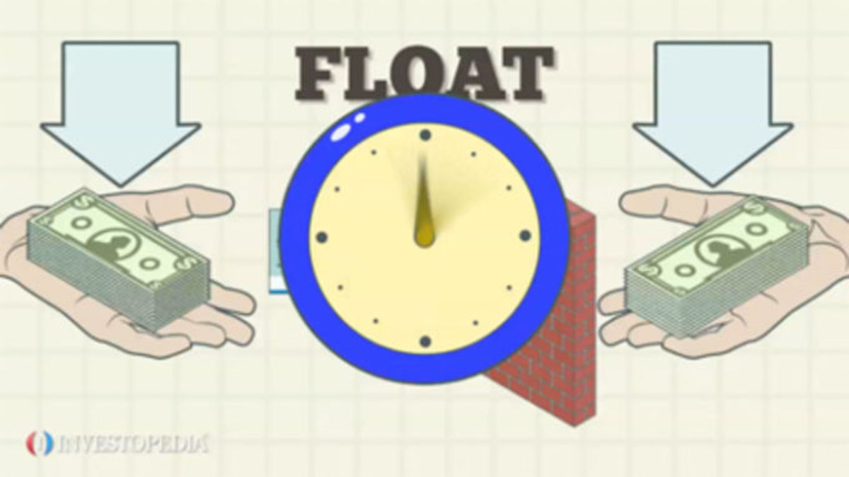 Time really IS money. Floating funds gives unearned income and interest to your payee.