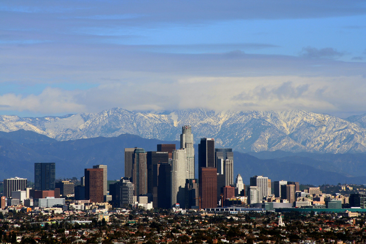 Los Angeles, second most populous city in the US