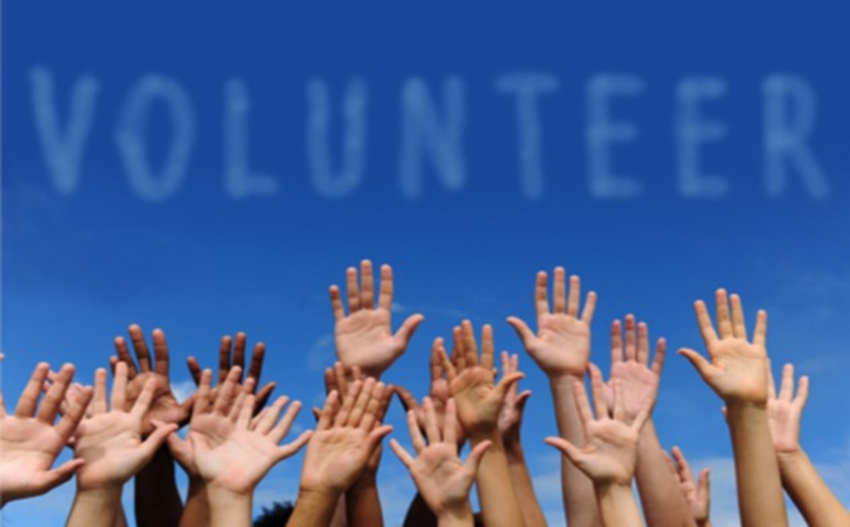 "volunteering is a ""Distinctly American Tradition""  for charities, non-profits, religious groups, Social Welfare programs, NGOs, private foundations, mutual aid societies and community services that don't require a penny of anyone' tax money."