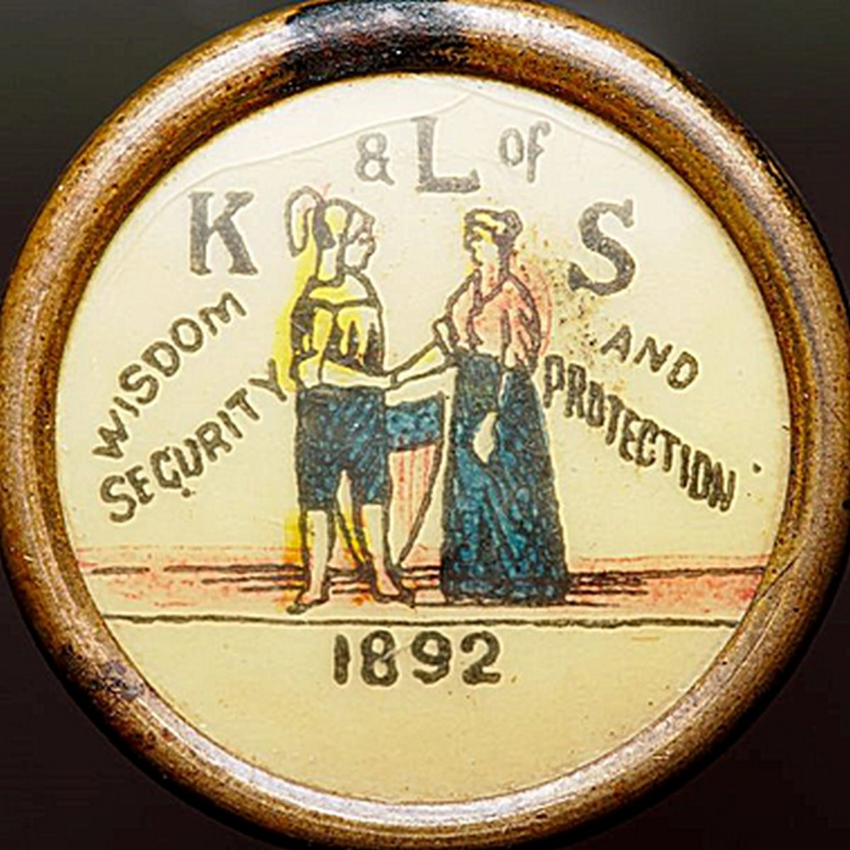 The Knights and Ladies of Security, a fraternal beneficiary society, operated a working farm, orphanage, home for the elderly, hospital, and clinic in Topeka, Kansas in the early 20th Century.