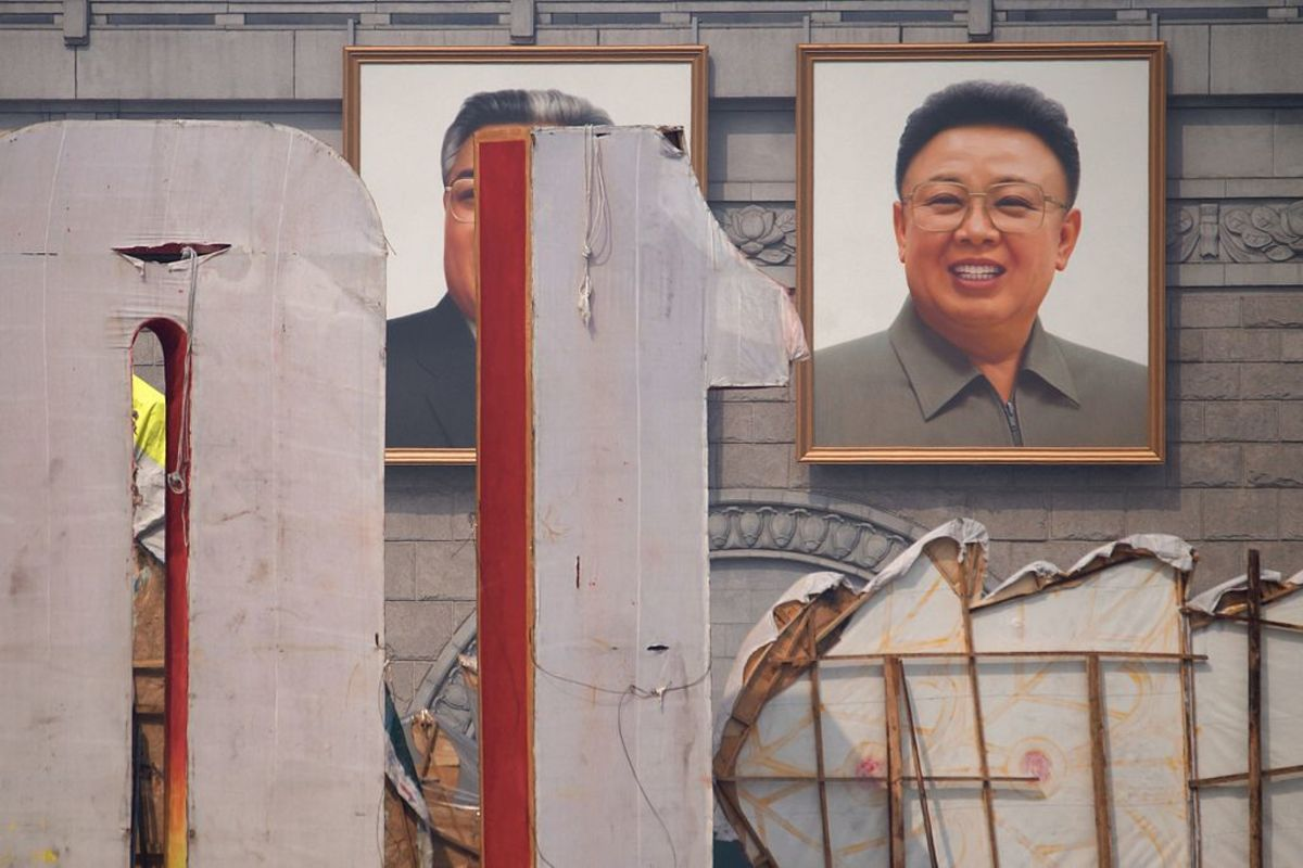 On the birthday occasion of Kim-Il-Sung.  Kim-Jong-Un represents the 3rd generation of the North Korean dynasty.