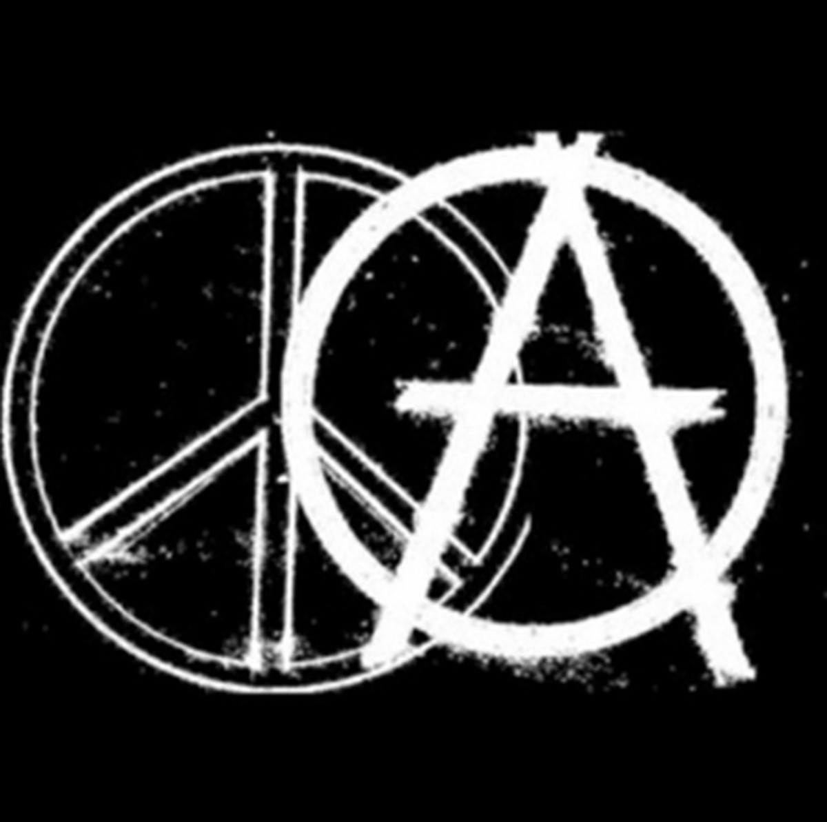 Anarchy and Peace -- No coercion, intimidation or fraud allowed. Any other form of anarchy is just hatred, bullying and lying.