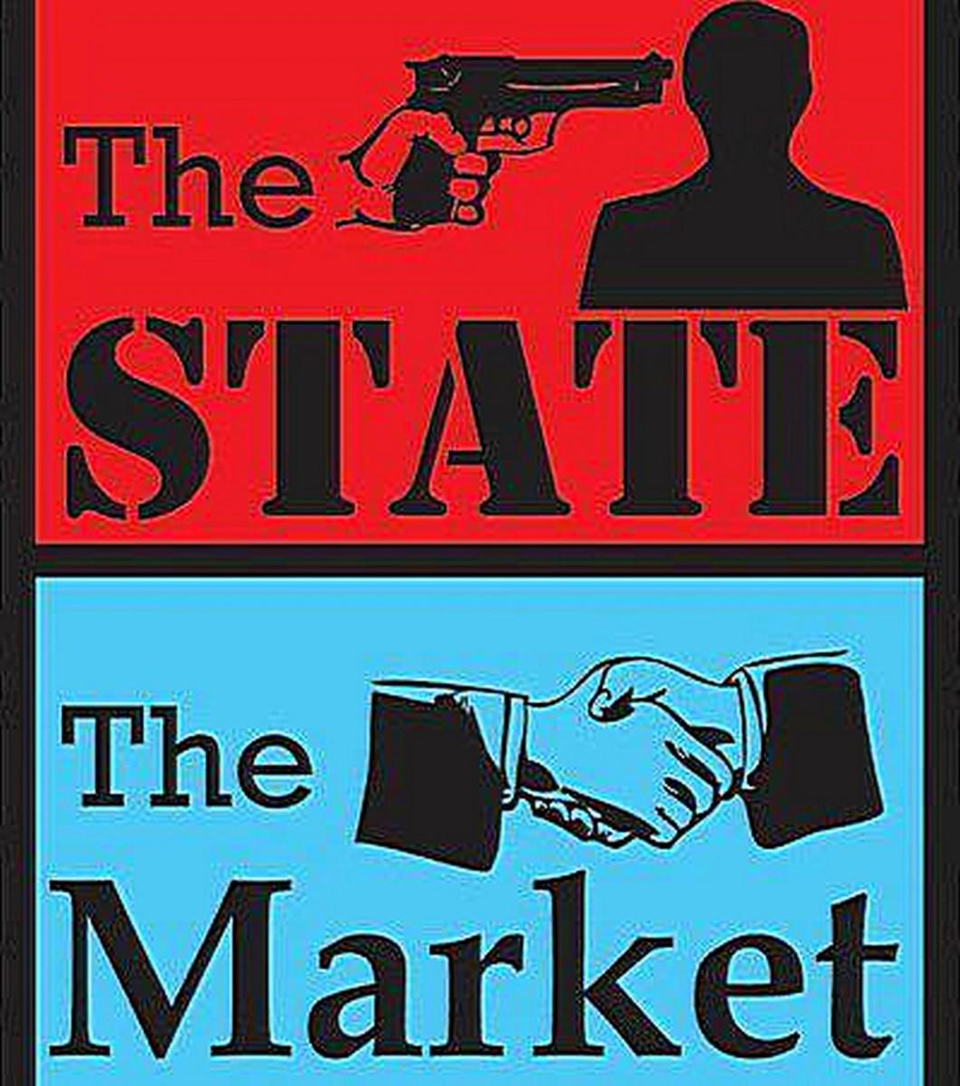 Coercion vs. Voluntaryism: Capitalism plus the state equals Corporatism; Capitalism minus the state equals Free Markets.