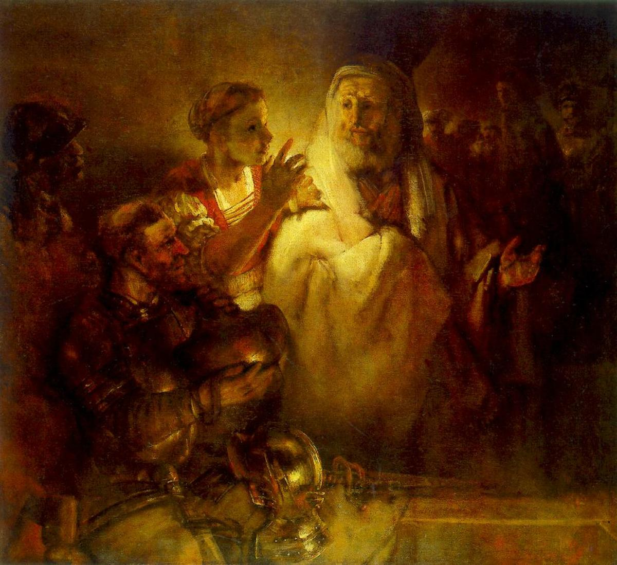 "Remebrandt's ""Peter Denying Christ"""