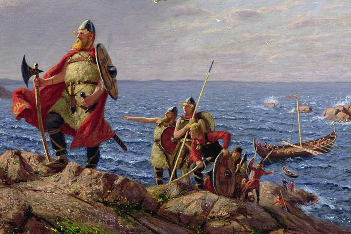 The term 'viking' is the name invaded Europeans gave to Norse raiders, but it is not what they called themselves.  Given the context, it was probably a slur by the victims given to the people attacking their villages