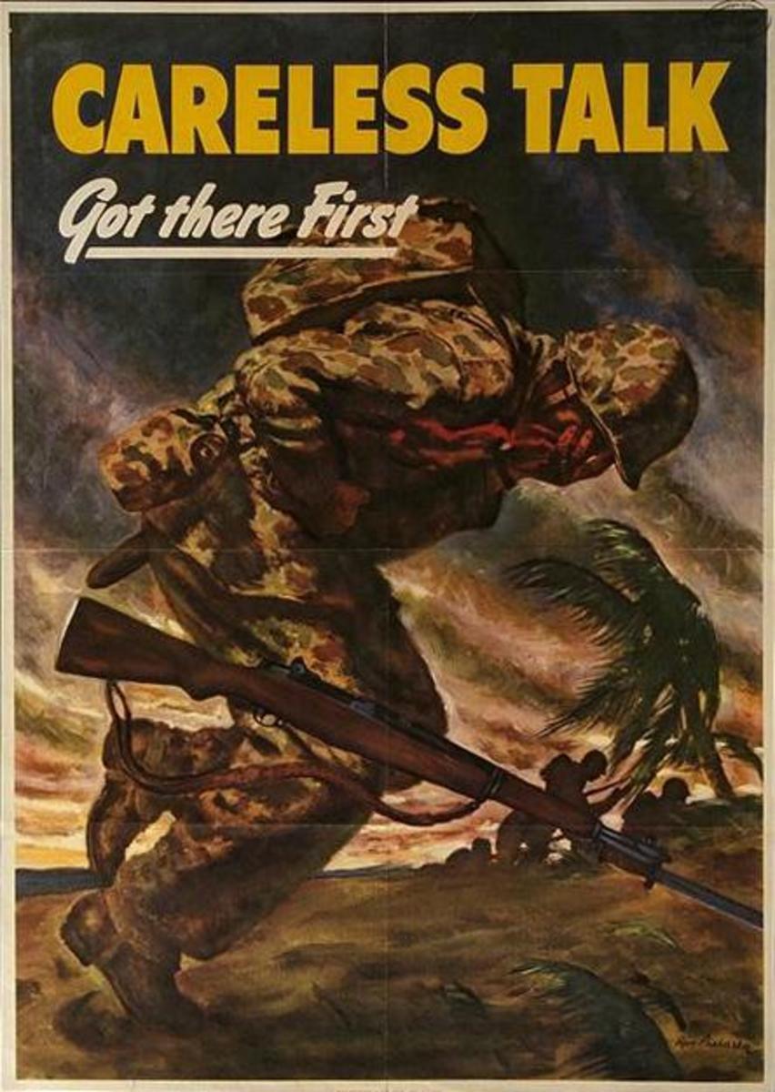 Careless talk got there first (1944)