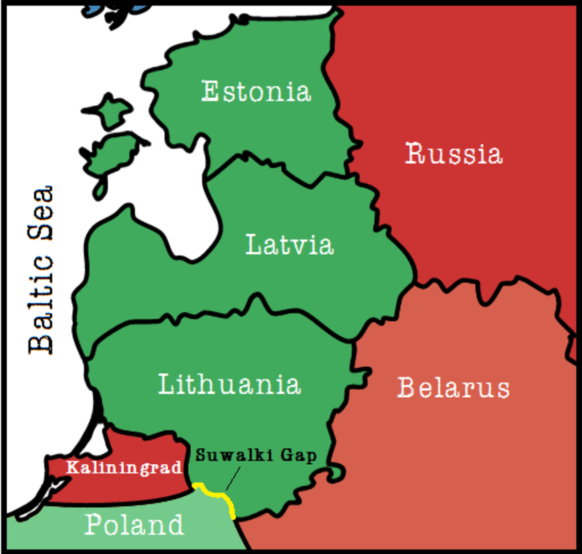World Map After World War 3.3 Reasons Why World War Iii Could Start In The Baltic States Soapboxie