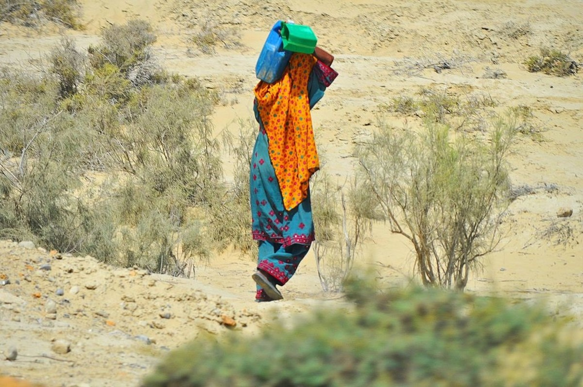 Vendor in Balochistan.