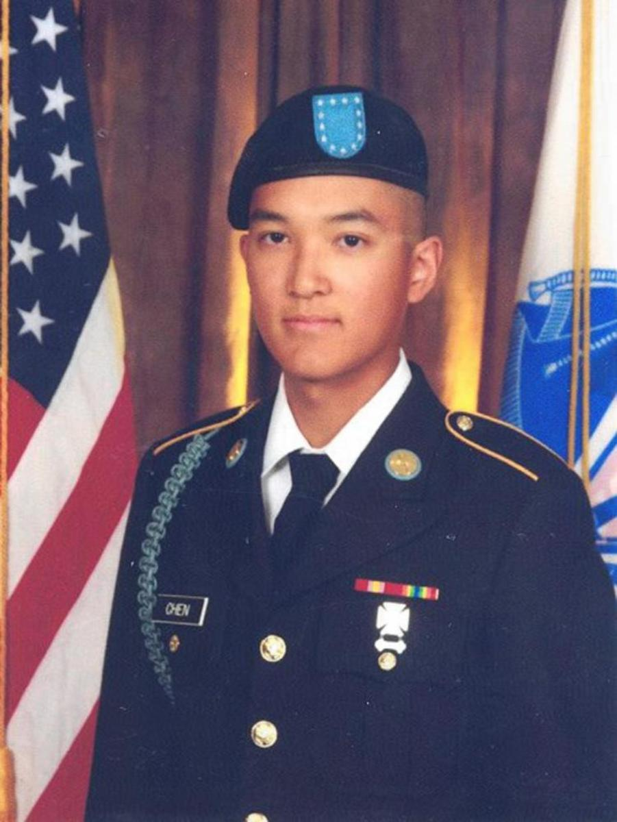 Private Danny Chen   May 26, 1992 - October 3rd, 2011