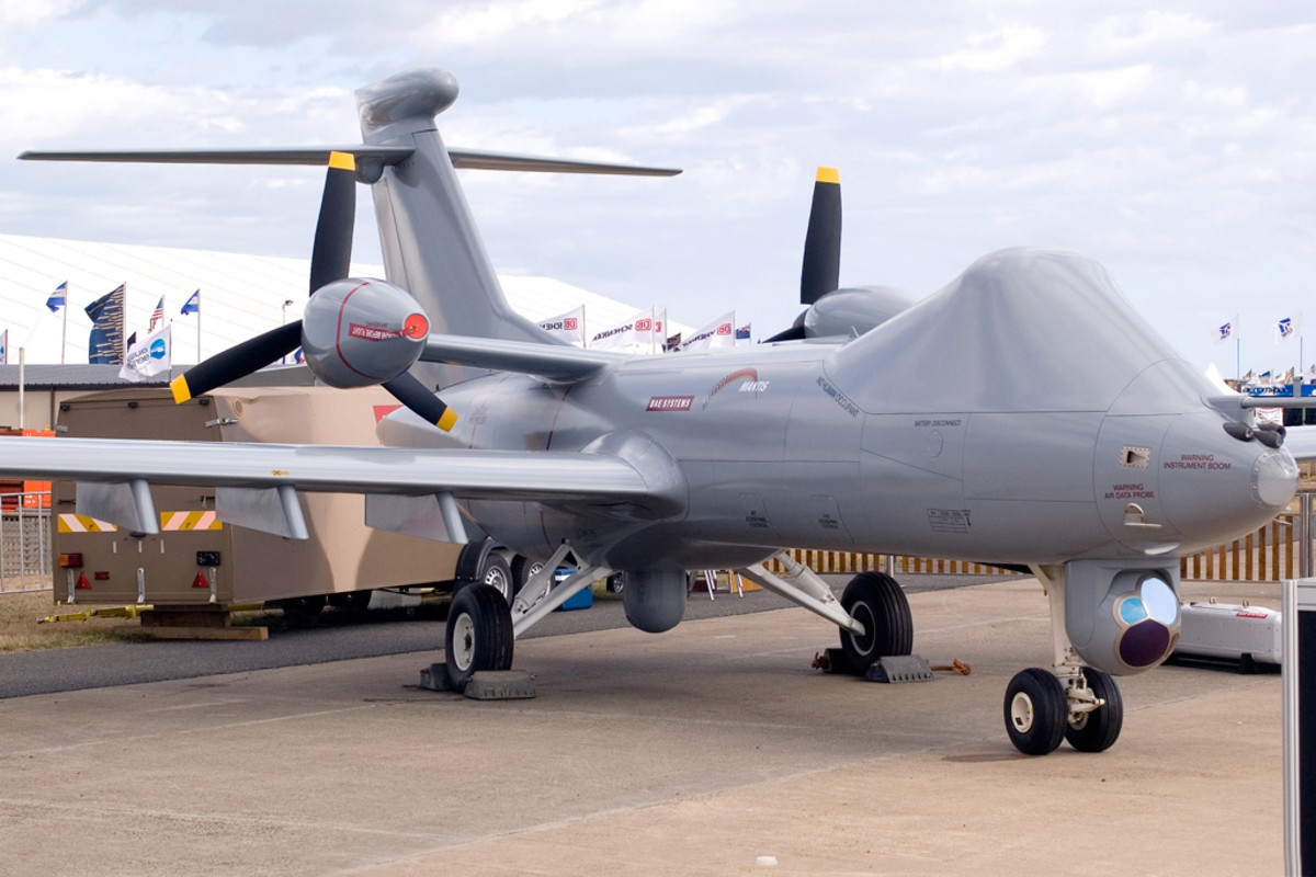 BAE Systems Mantis UAS Concept Demonstrator