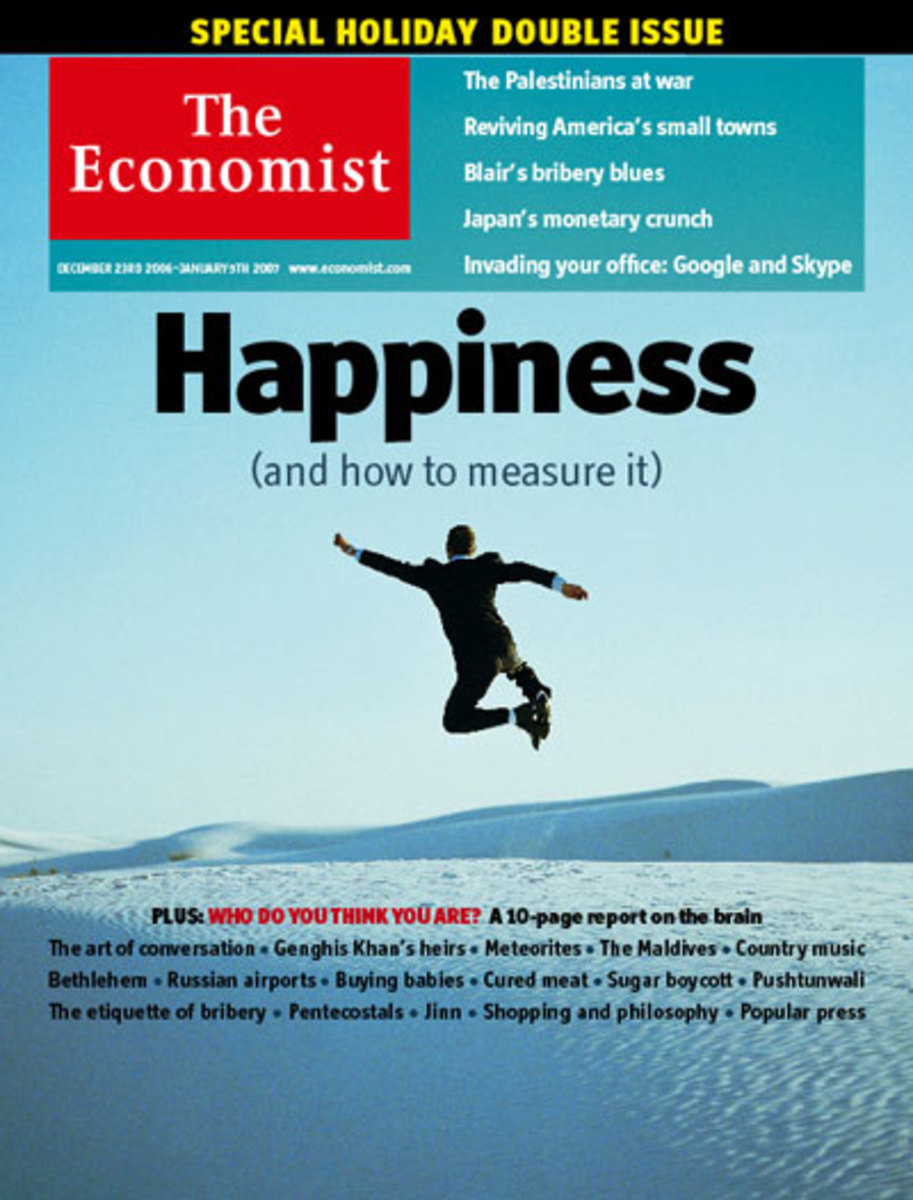 titles like the Economist provide current information
