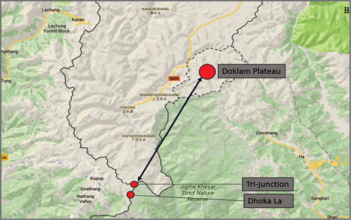 The Disputed Doklam Region