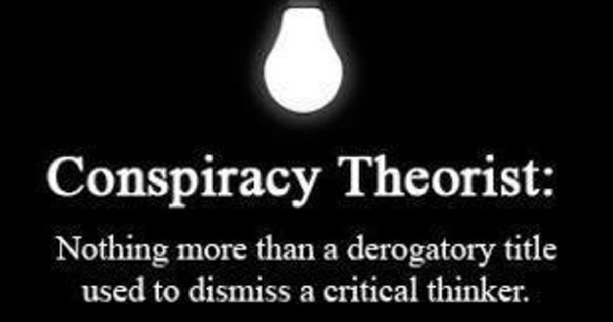Conspiracy theories?