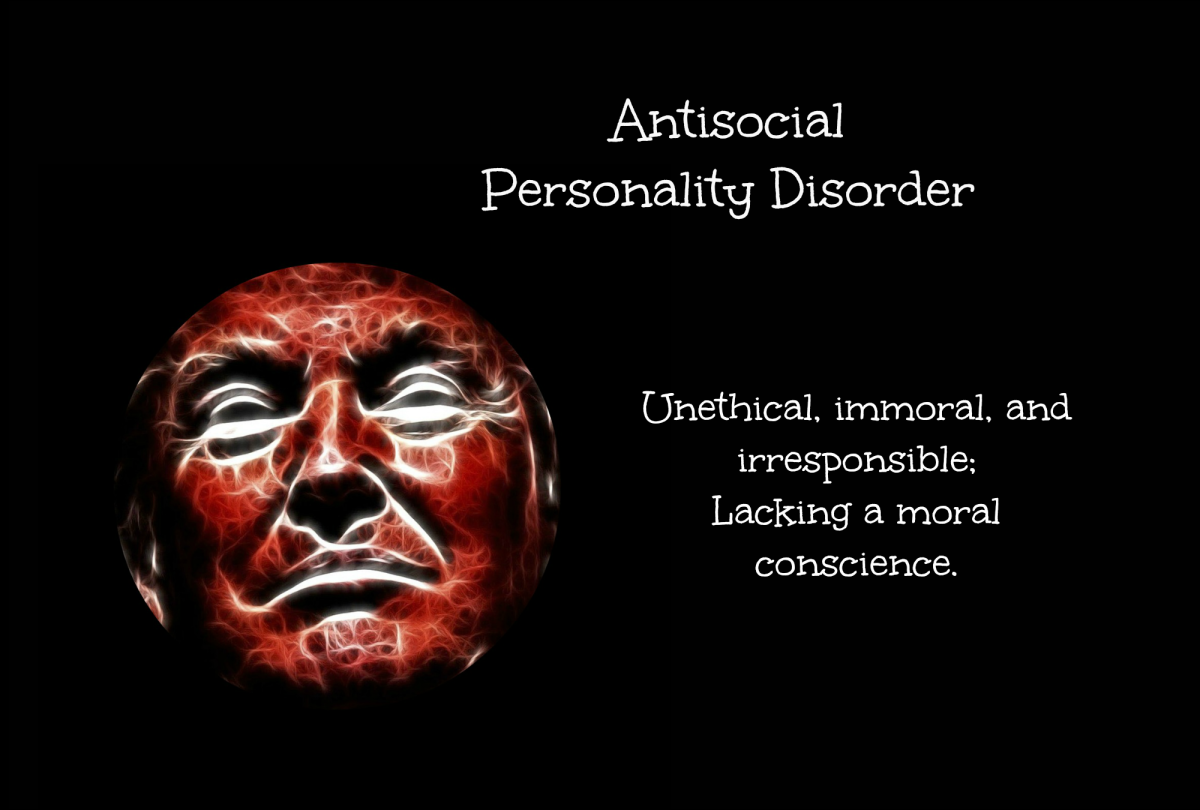 Trump shows anitsocial behavior when he demeans others.