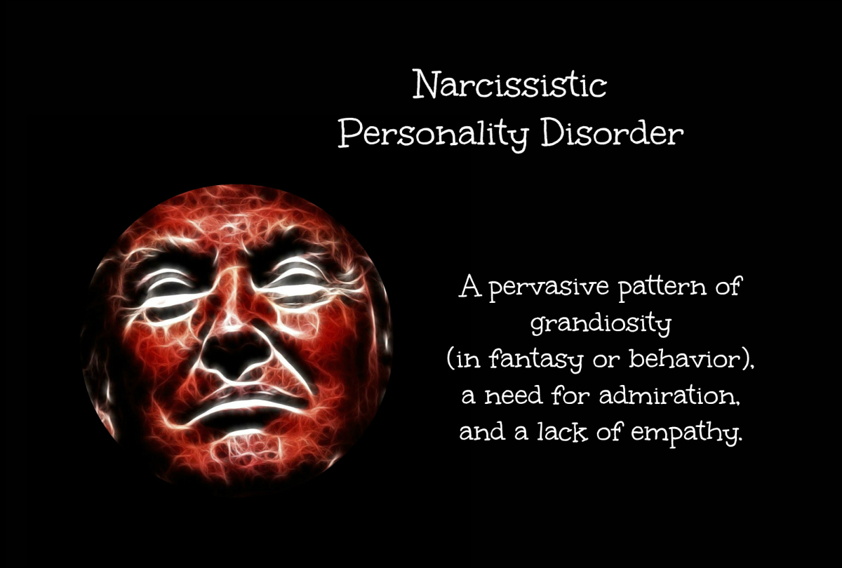 I don't think anyone will disagree that Trump is narcissistic.
