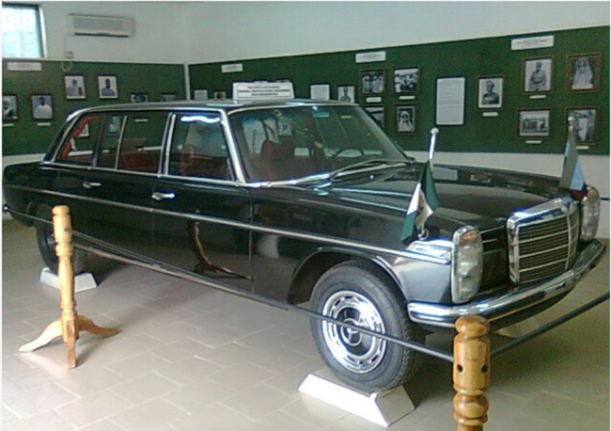 Car in which Murtala Mohammed was killed.