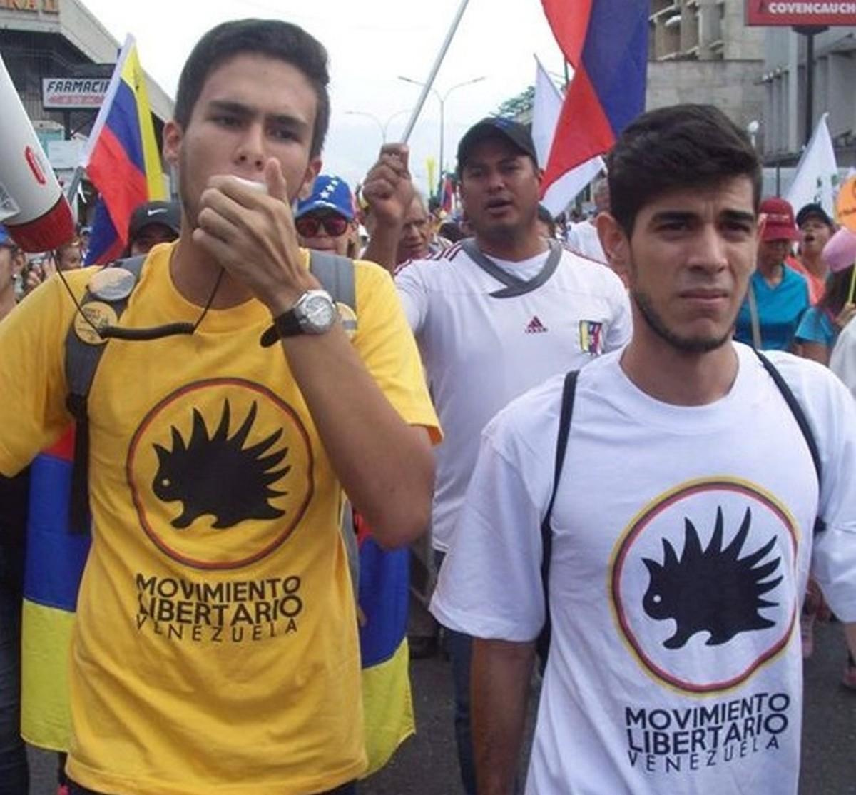 In June members of Movimiento Libertario de Venezuela took to the streets in defiance of their violent, dictatorial socialist regime.