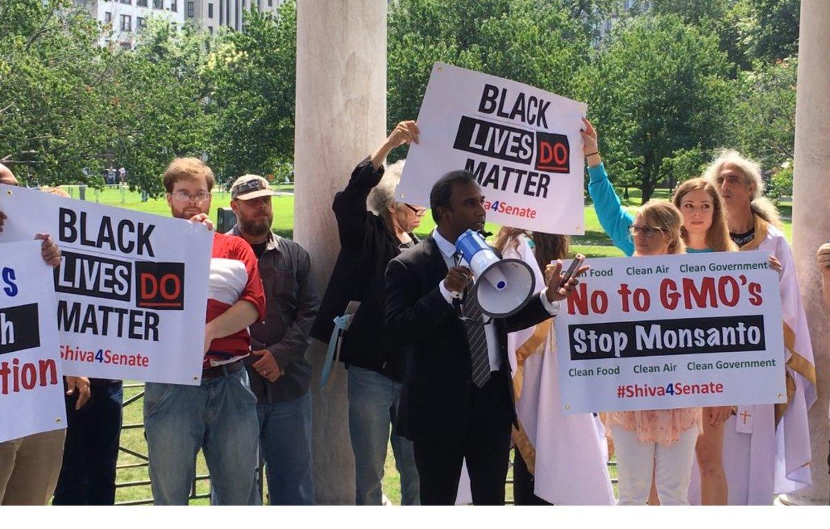 Boston Conservative Free Speech Rally