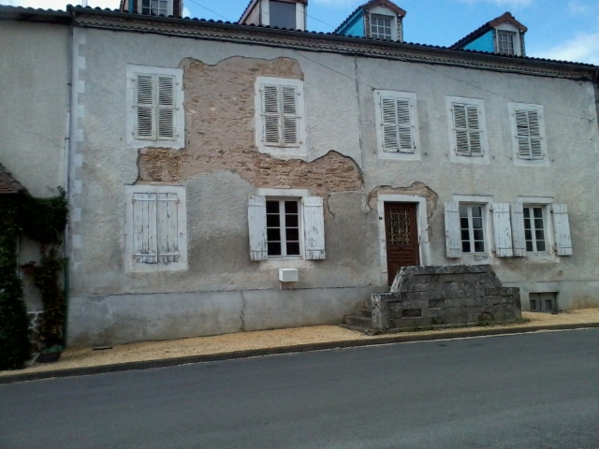 A house in Dournazac, Haute Vienne.