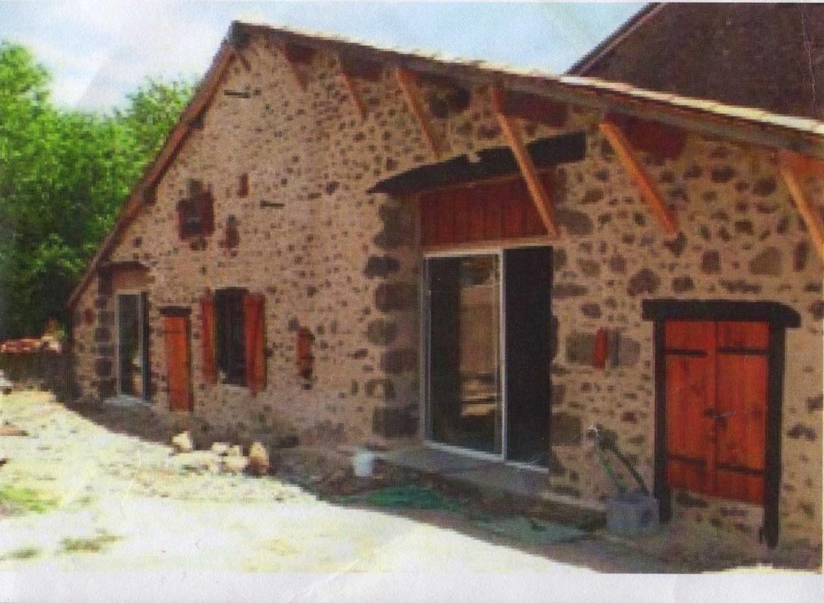 A small barn conversion underway.