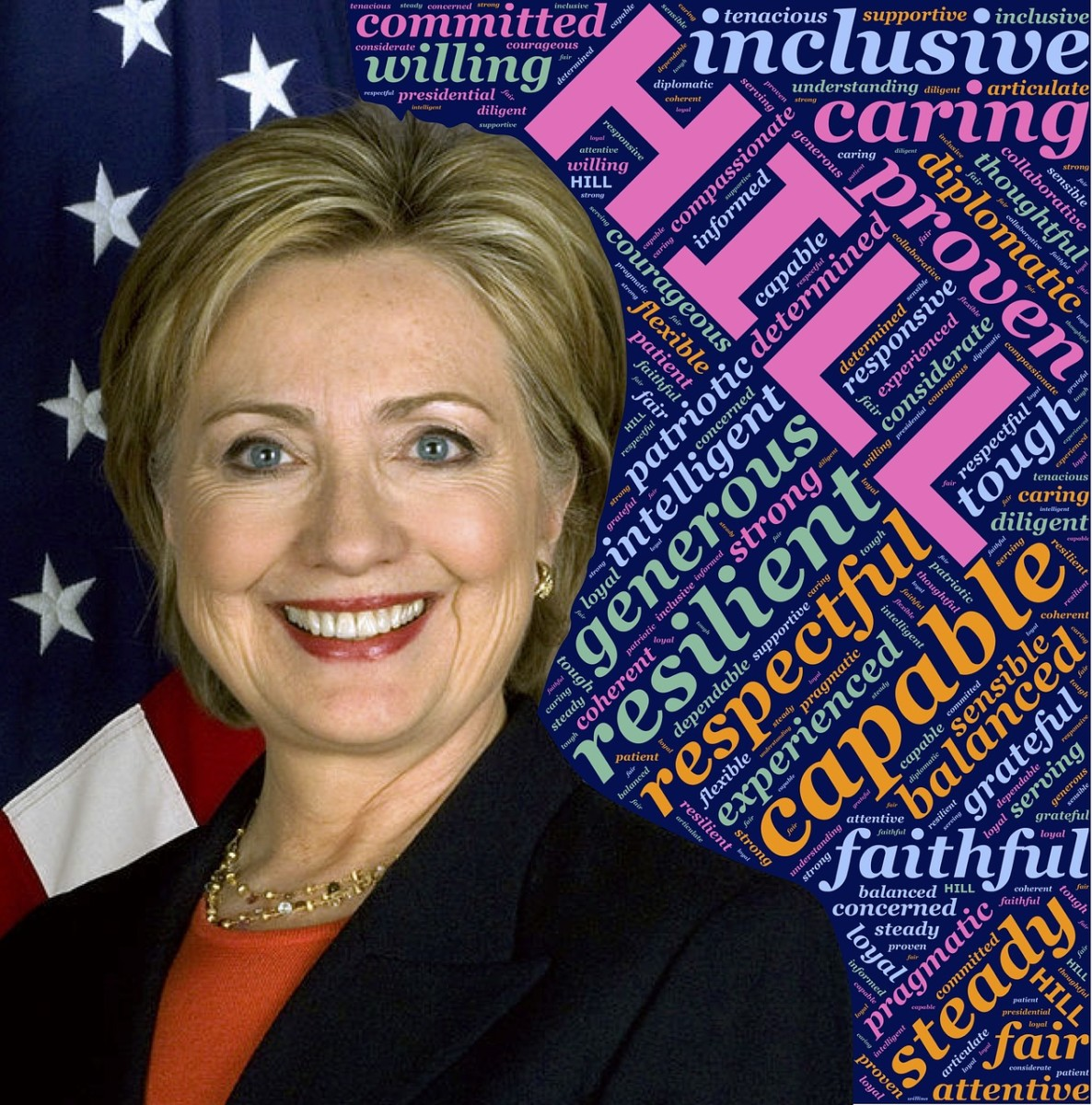 Hillary has the kind of qualities we should want in a president.
