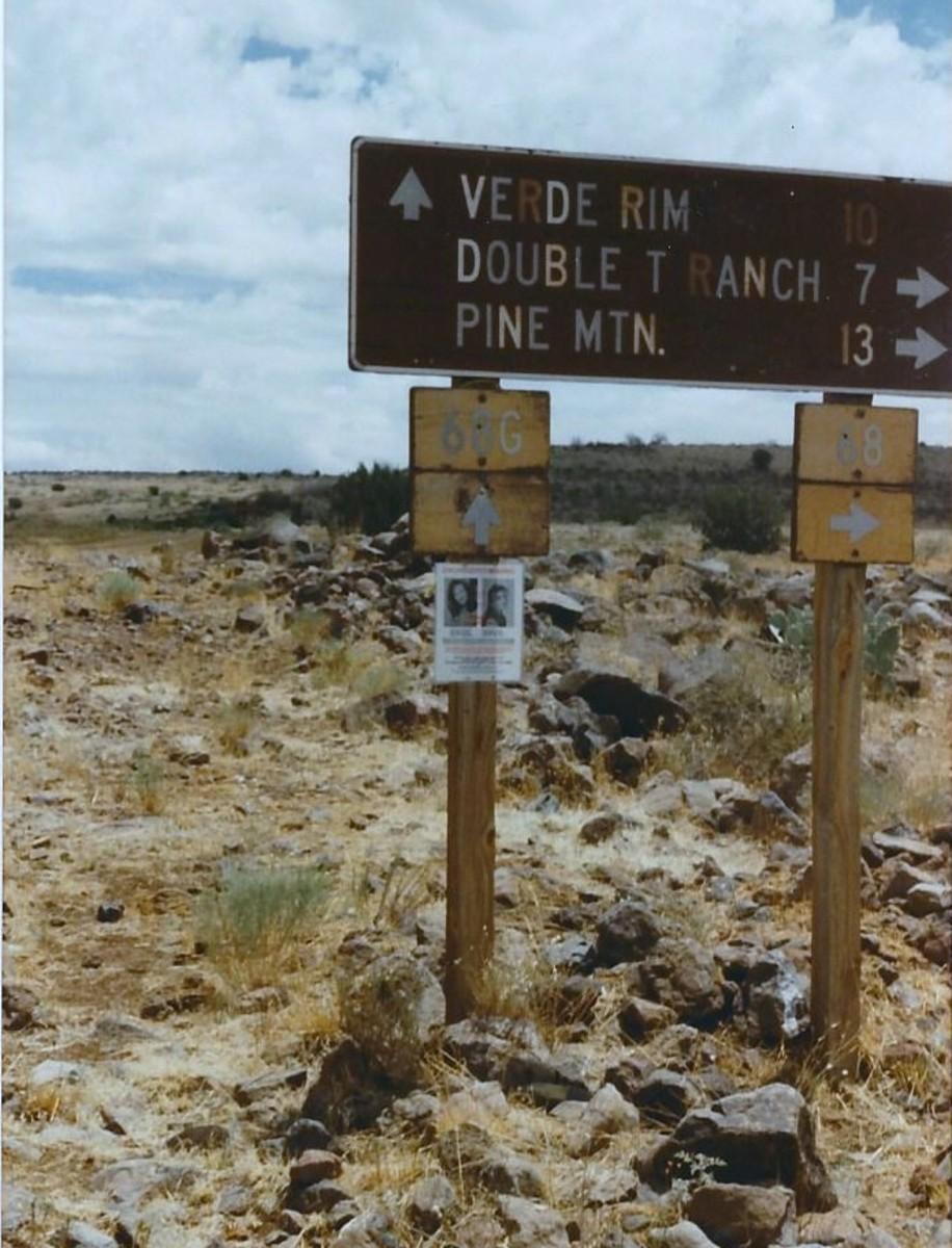 Dugas Rd., in remote Yavapai County, Ariz.