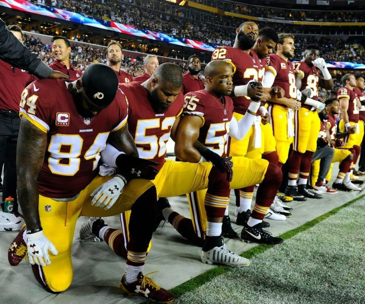 NFL players are invoking their rights.