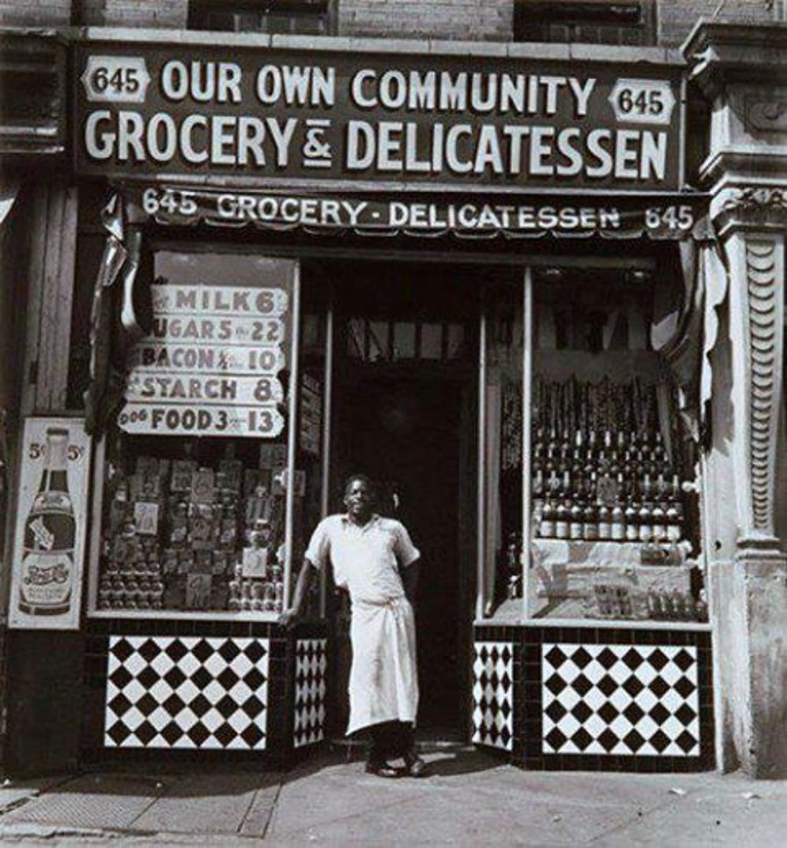 Just one of many thriving Black-owned establishments during segregation.