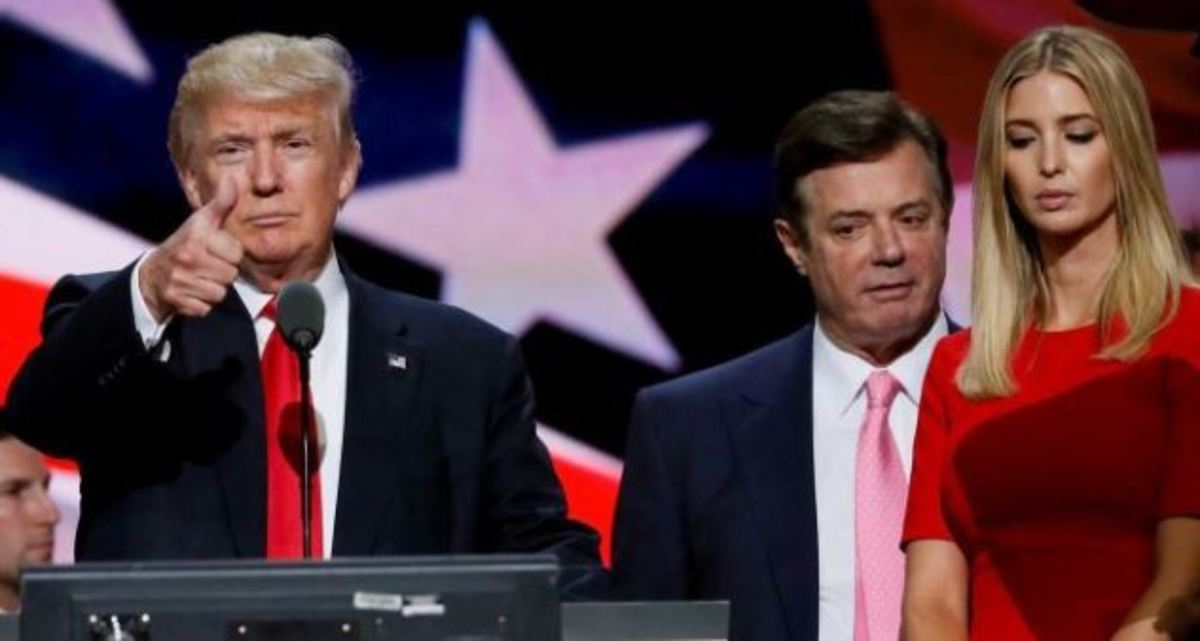 Donald Trump, Paul Manafort, and member's of Trump's family are all implicated in the Russia scandal.