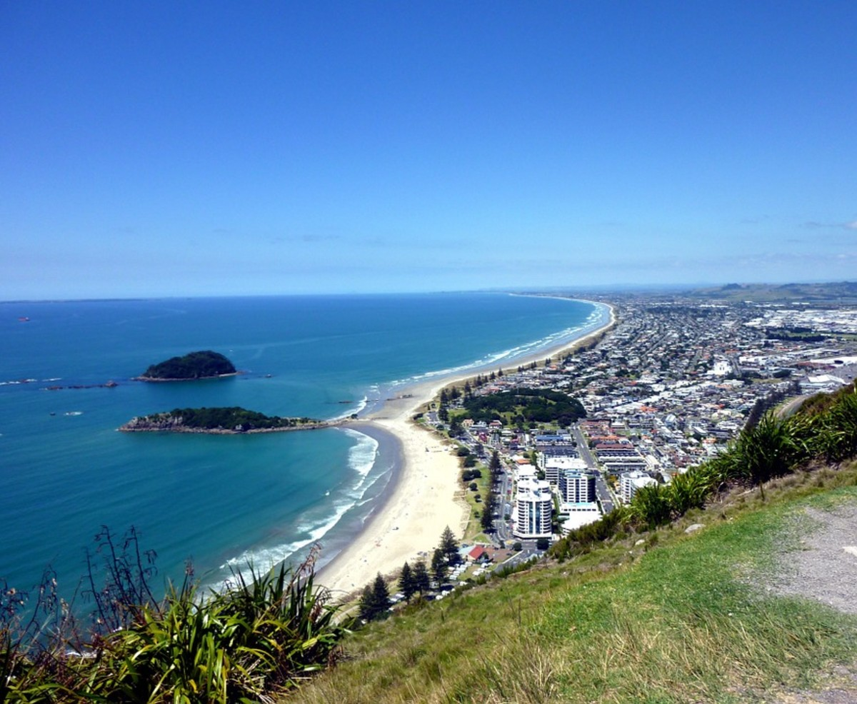 Tauranga, the fifth largest urban area in New Zealand