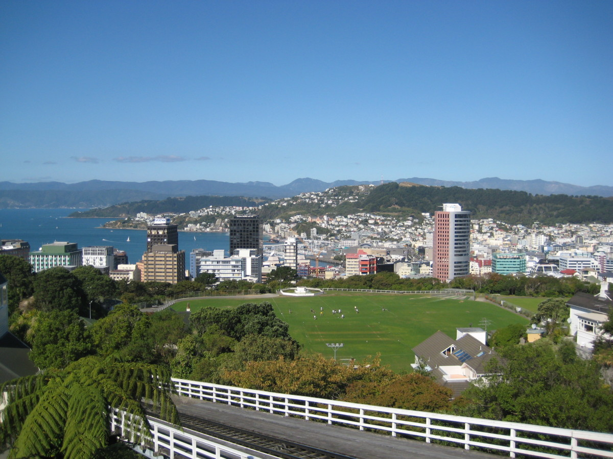 Wellington, the capital city and second most populous urban area of New Zealand