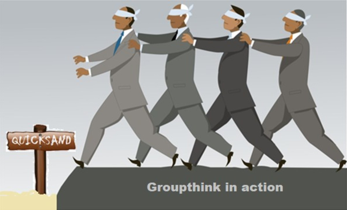 Democratic Groupthink: When there's no group leader to follow just follow each other