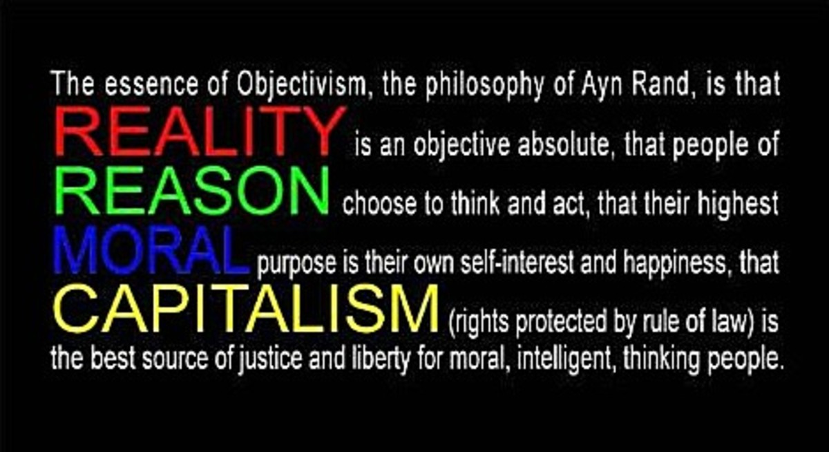 Like it or not this is the essence of Ayn Rand's philosophy, not Wilson's version.
