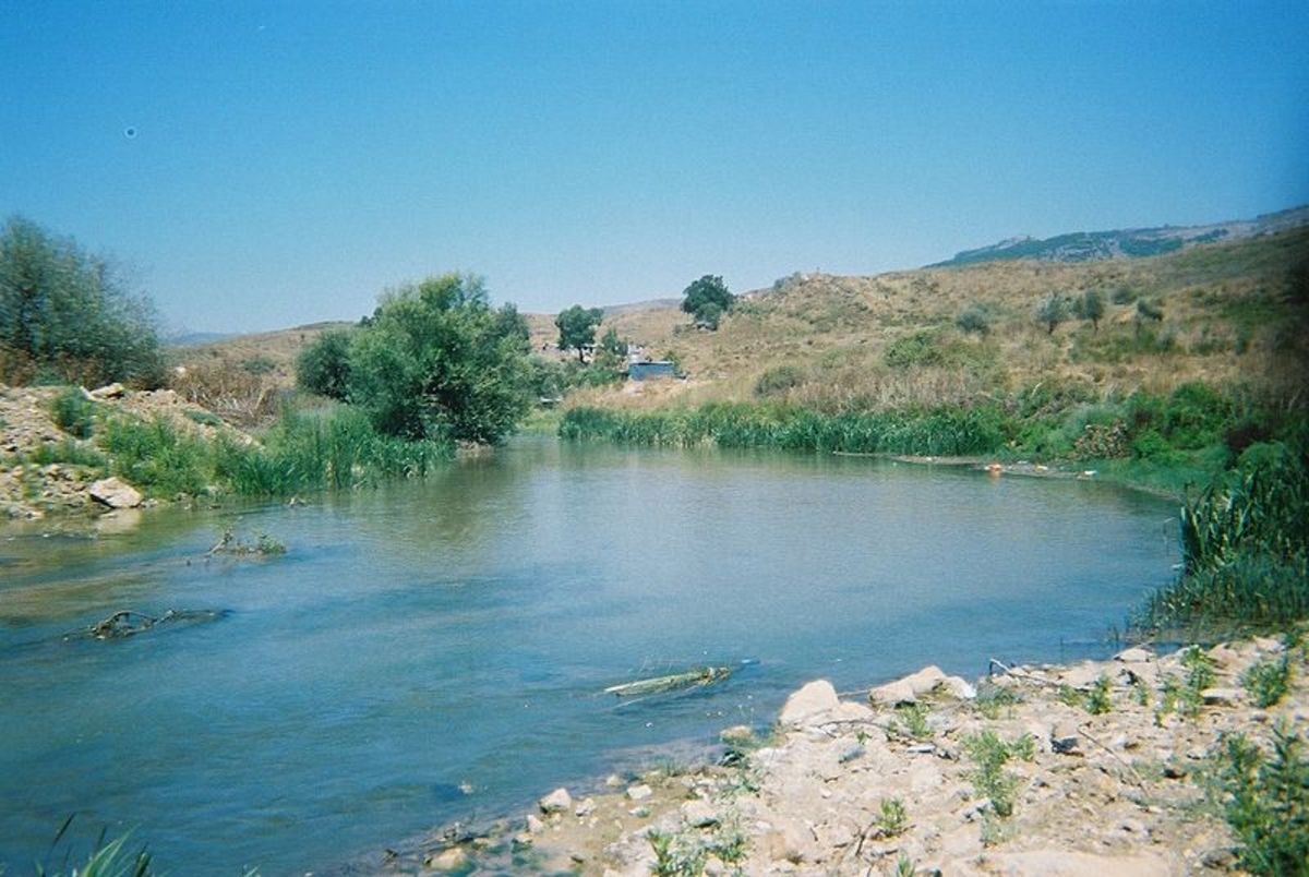 South Litani River, near the Israeli border