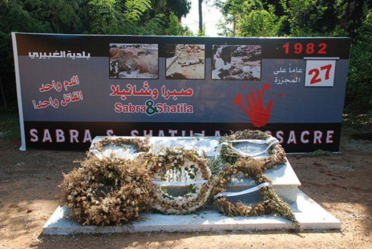 Sabra and Shatila Massacre 1982 Memorial in Sabra, South Beirut