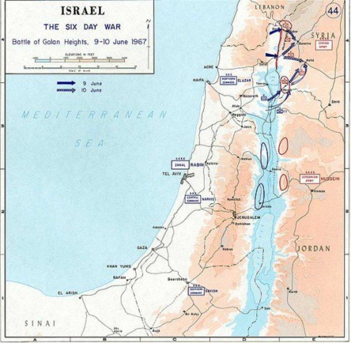 Battle of Golan Heights