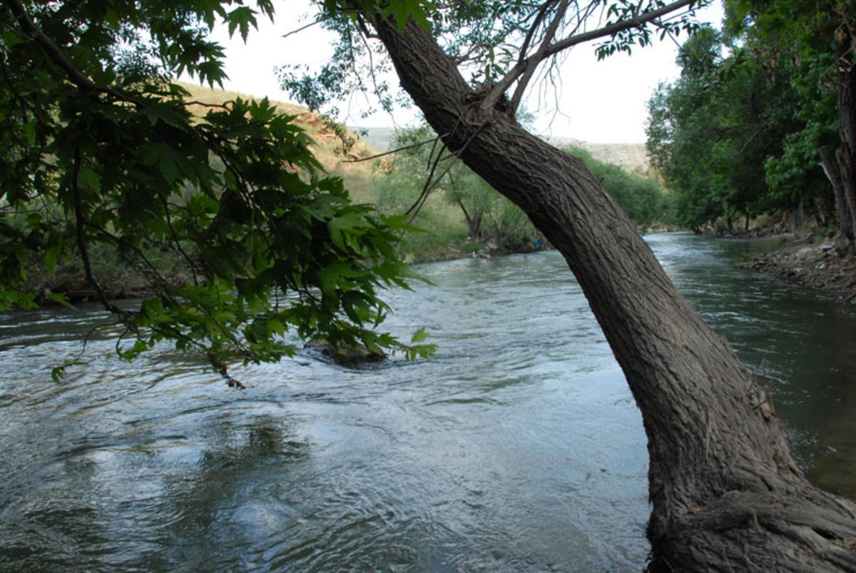 Litani River in Southern Lebanon
