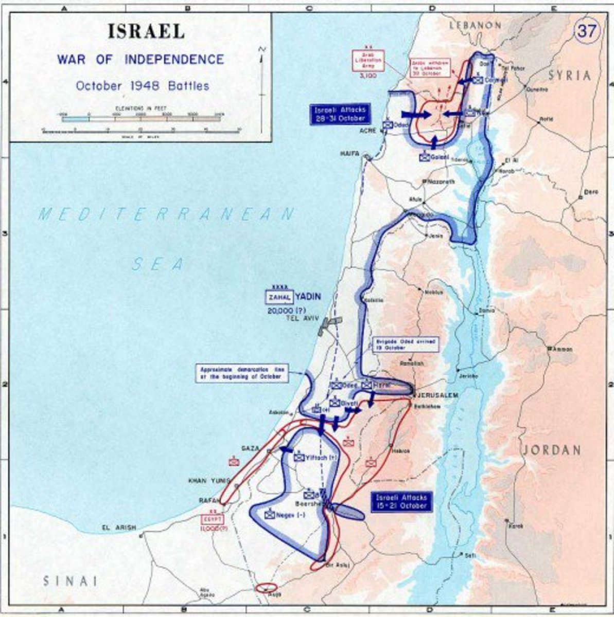 October 1848 Battles