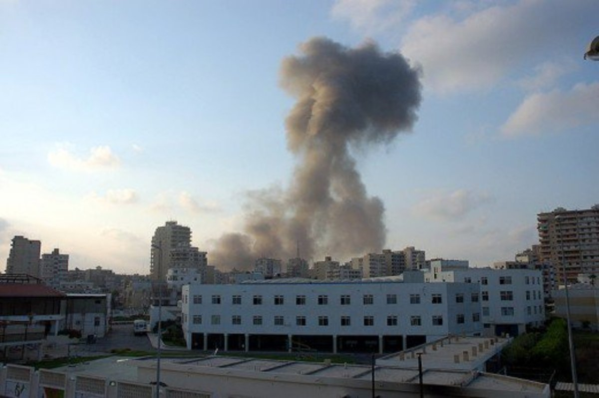 Tyre air strike, July 2006