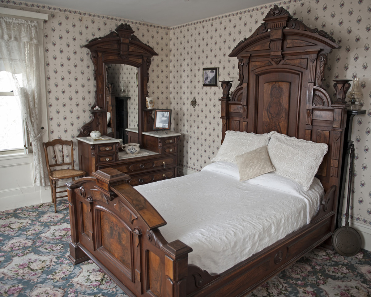Room where Abby was murdered.