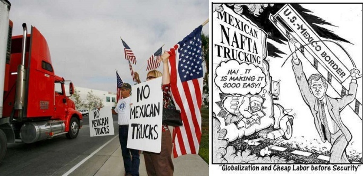 NAFTA Cartoons